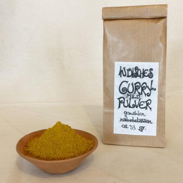 Indisches Currypulver - mild