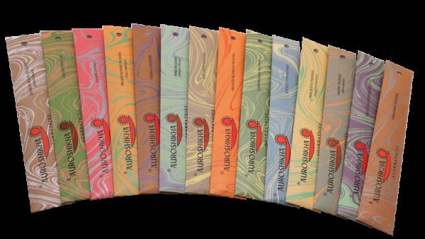 Auroshika Räucherstäbchen - viele Düfte zur Auswahl