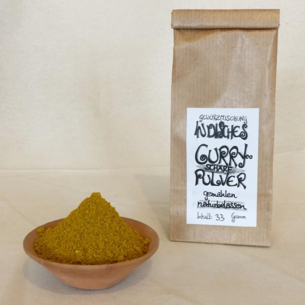 Indisches Curry - scharf