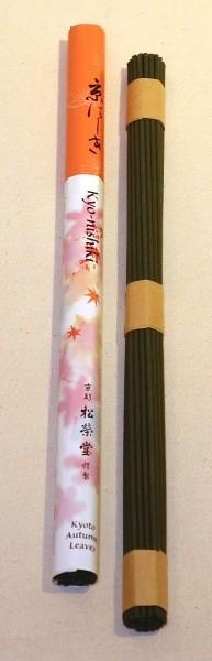 Japanische Räucherstäbchen - Kyonishiki - Herbstblätter
