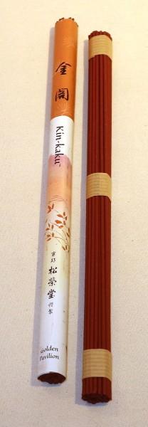 Japanische Räucherstäbchen - Kin-Kaku - Goldener Pavillon