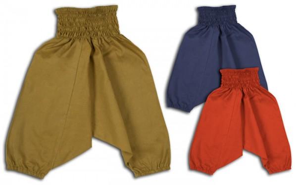 Aladinhose Pluderhose für Kinder 1-2 Jahre XXS