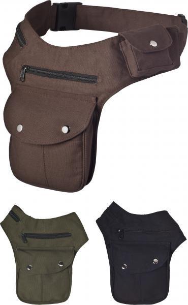 Gürteltasche Sidebag Klickverschluss
