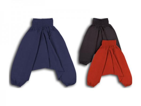 Aladinhose Pluderhose für Kinder 2-3 Jahre XS
