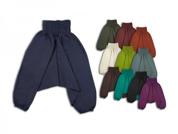 Aladinhose Pluderhose für Kinder robust 7-12 Jahre L